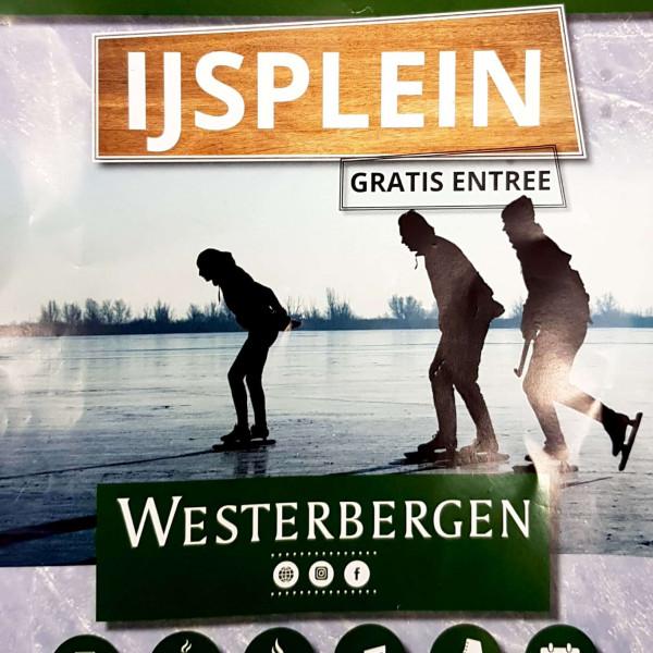 IJsplein Westerbergen, vrij schaatsen