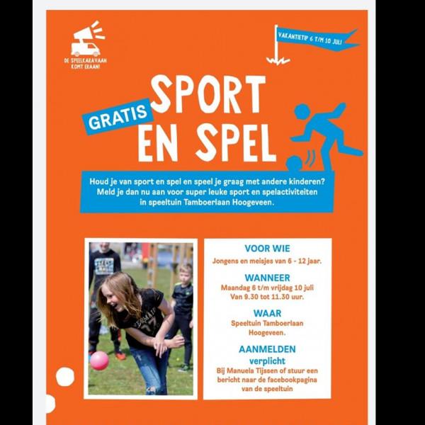 Sport en spel week