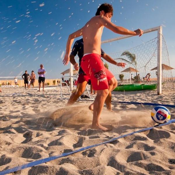 Beachspelen en wraps maken