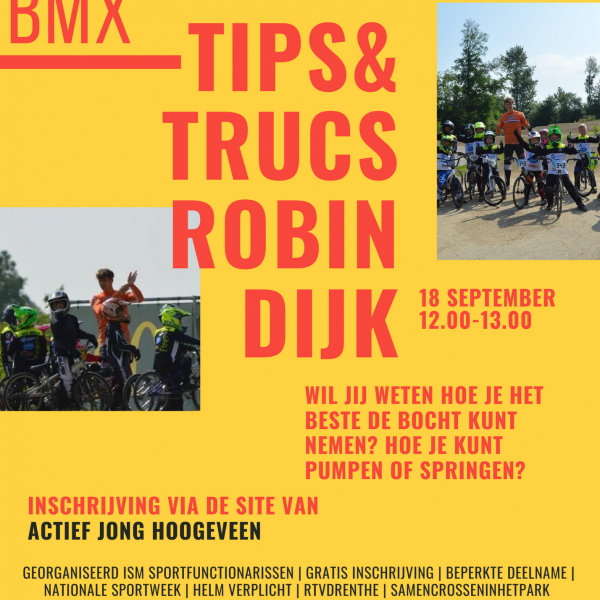 Tips & Trucs Fietscrossbaan Steenbergerpark