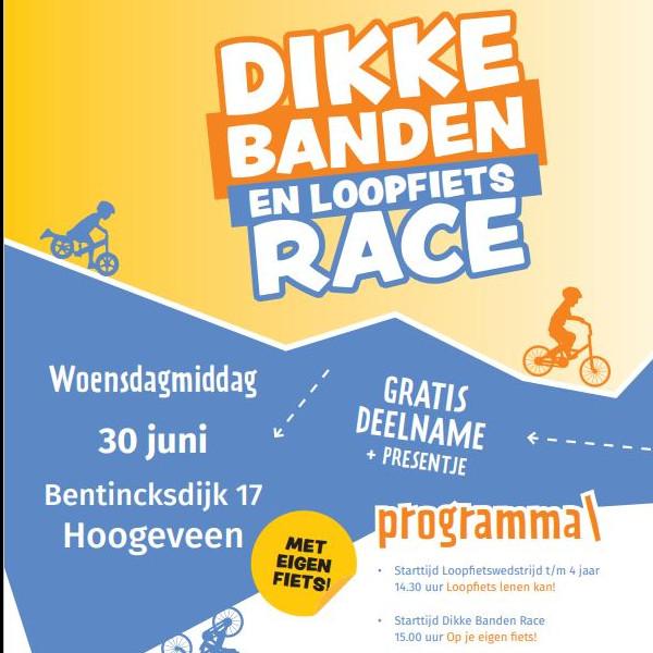 Dikke Banden & Loopfiets Race's